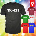 TK-421 TShirt for Star Wars Stormtrooper Fans, Geeky - Choose from 6 Colours