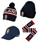 ENGLAND RUGBY (RFU) HAT/SCARF/BEANIE/CAP (Official Merchandise) (Union/Gift)