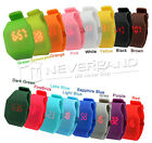 Blink Time MINI Watch Colourful Touch Operated LED Digital Silicone Strap TOP