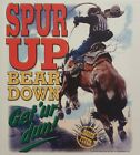 DIXIE SPUR UP BEAR DOWN BRONCO BUSYING RODEO REDNECK REBEL SOUTHERN SHIRT #2161