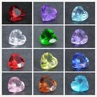 Popular 10Pcs 5mm Heart Birthstone Floating Charms for Living Memory Locket
