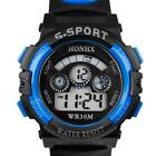 HONHX Mens Boys Multifunction Sports Digital Led Waterproof Electronic Watches