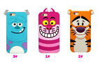 Multi-Style 3D Cartoon Rabbit Silicone Soft Gel Rubber Case Cover For iPhone 5 6