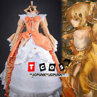Vocaloid Hatsune Kagamine Rin The Daughter of Evil Cosplay Costume Dress