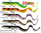 BEST PRICE!!  SAVAGE GEAR REAL Reel EEL READY TO FISH 20CM PIKE,PERCH ZANDER etc