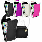 LEATHER CASE FLIP CASE COVER POUCH FOR APPLE IPHONE 4 & 4S