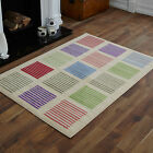 LARGE EXTRA LARGE MEDIUM MODERN SMALL GREEN RED CREAM BLUE STRIPES PATTERN RUGS