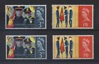QE2 SG665p-SG666p SG665-SG666 MNH SALVATION ARMY PHOS AND/OR ORD, CHOOSE SETS