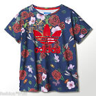 Adidas Originals Rita Ora Roses Floral T-Shirt Tee S M UK 10 12 14 US 6 8 10
