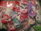 Hello Kitty SocksSizes  5.5-6.5  to 7-9   Several Types Each Sold Separate