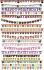 JOINTED LETTER BANNER - LICENSED CHARACTER DESIGNS Range (Birthday Party){Set2}