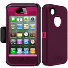 NEW OtterBox Defender Series Case & Belt Clip Holster for Apple iPhone 4 / 4S