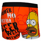 The Simpsons Homer Official Gift 1 Pair Mens Boxer Shorts Orange (RRP £9.99!)