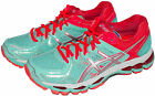 Asics Womens Gel-Kayano 21 Running Shoes Beach Glass/Silver T4H7N.6493 Sz 6 - 10