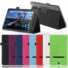 """Flip Folio Case Stand Leather Cover For Dell Venue 8 7000 Series 8.4"""" Tablet New"""