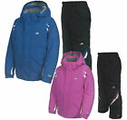 Trespass Scream Kids Ski Set Girls and Boys Jacket and Salopettes 2 - 12 yrs