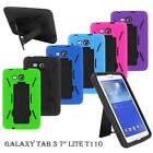 For Samsung Galaxy Tab Tablet Heavy Duty Combo Hard Box Hybrid Stand Case Cover
