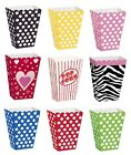Polka Dots 8 TREAT BOXES (Decoration/Birthday/Celebration/Party)
