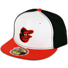 New Era 59FIFTY Fitted MLB AC YOUTH On Field Baltimore Orioles Home Cap