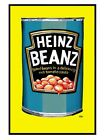 New Gloss Black Framed Heinz Baked Beans Beanz Meanz Heinz Poster