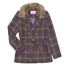 Tayberry Penelope Country Tweed Winter Peacoat 10-18