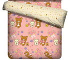 San-X Rilakkuma Bear Happy Natural Time Duvet Doona Quilt Cover |3 Sizes Choices