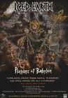 ICED EARTH Plagues Of Babylon PHOTO Print POSTER Jon Schaffer Glorious Burden 01