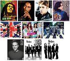 MUSIC - Mini POSTERS (Official) 40x50cm Large Range (Wall/Room/Band/Singer/Star)