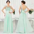 Chiffon Sexy Formal Long Evening Mother of Bride Wedding Party Gown Prom Dresses