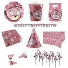 ANGRY BIRDS PINK Birthday PARTY RANGE {Amscan}(Tableware/Decorations/Balloons)