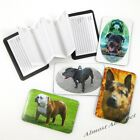 Magnetic Address Book: Credit Card Sized with Your Choice of Dog Pictures ~ New