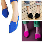 2014 NEW Comfort Ballet Slip-on Flat - Casual and Dressy Pointed Toe Shoes C211