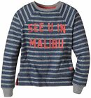 Roxy Big Girls (7-16) See U In Malibu Crewneck Sweatshirt-Navy/Grey