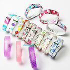 LARGE Small Clear Transparent Replacement Wrist Band  for Fitbit Flex No Tracker