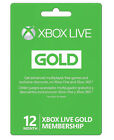 Microsoft Xbox LIVE 12 Month Gold Membership for Xbox 360 XBOX ONE
