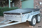 TRAILER COVER ONLY fits 6' x 4' BOX TRAILER (eyelet) *MADE TO ORDER* (TNSTR02)