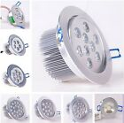 1W to 18W LED Ceiling light Recessed Lamp Bulb Downlight Kit+Driver Dimmable/Not