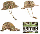 US British Army Military Jungle Boonie Sun Bush Hat Cap Surplus Combat Camo New