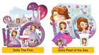 DISNEY Princess SOFIA The First PARTY RANGE Tableware Decorations & Balloons