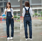 Women Fashion Denim Jeans BIB Pants Overalls Straps Jumpsuit Rompers Trousers