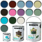 Ronseal Exterior Garden Paint Wood, Brick, Metal, Stone - 250ml, 750ml, 2.5L