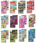 3D Lenticular STICKERS - Kids Characters (Large Range) One Sheet (Reward/Craft)