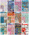 A4 MEGA PACK Over 150 Stickers - Kids Character Disney Party Loot Bag Fillers