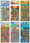 Large REWARD STICKERS Sheet - Kids Characters (Fun/School/Homework/Gift) 017011.