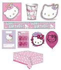 HELLO KITTY Birthday Party Range {Gemma}(Kids/Tableware/Celebration/Decoration)