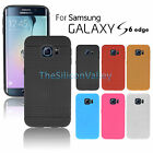 For Samsung Galaxy S6 Edge TPU Soft Silicone Gel Back Case Cover Skin Shell New