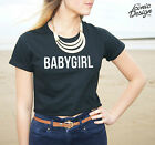 * BABYGIRL Crop Top Tee Fashion Slogan Fresh Swag Dope Gurl Baby Girl Shirt *
