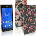 Floral Butterfly Pattern Hard Case for Sony Xperia Z3 D6603 6633 Skin Back Cover