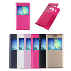 Luxury View Window Flip Leather Case Cover for Samsung Galaxy E5 E500F Hottest