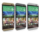 HTC One M8 - 32GB - Silver / Gray/ Gold (AT&T) Smartphone (C)